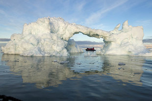 Iceberg in Canadian High Arctic - Daisy Gilardini