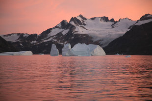Sunset in East Greenland - Rob Tully
