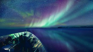 Northern Lights in East Greenland