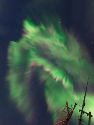 Northern Lights in East Greenland - John Dickinson