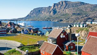 Traditional Greenland Village - Mark Robinson