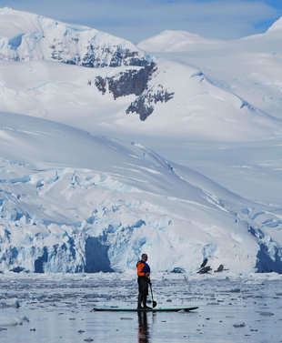Stand-up Paddle Boarding Antarctica