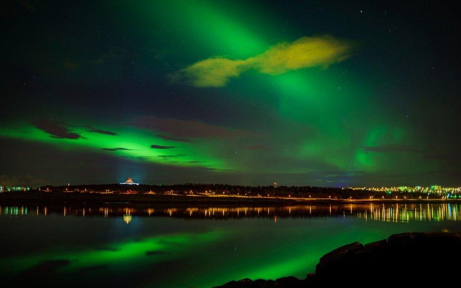 Northern Lights Arora Borealis Trekking Natural Wonders Of