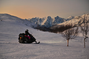 Lyngen Alps Snowmobiling, Northern Norway