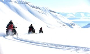 Snowmobile Adventure in Spitsbergen