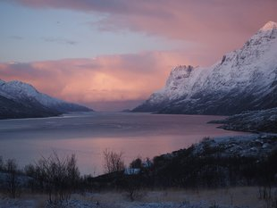Scenery, Sunset, North Norway