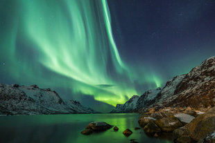Northern Norway Aurora Borealis