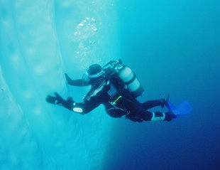 Diving in Antarctica - Goran Ehlme
