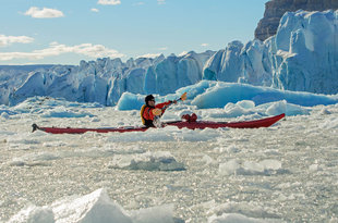 Kayaking in Baffin Island, Canadian High Arctic