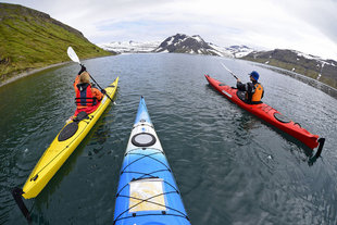 Sea Kayaking Iceland