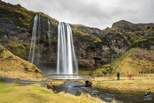 Seljalandsfoss Waterfall South Coast Iceland
