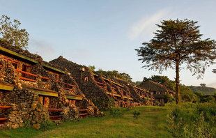 Safari Lodge near Ngorongoro Crater