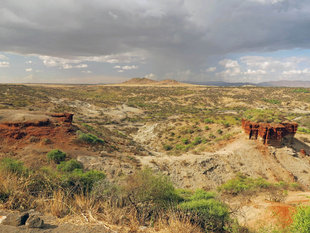 Olduvai Gorge - Ralph Pannell