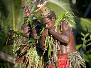Tribal Culture in New Ireland