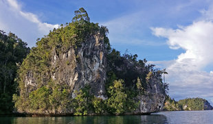 Limestone Mushroom Islands in Raja Ampat - Aqua Firma