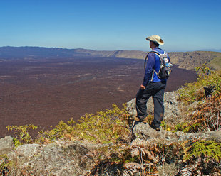The World's Second Largest Volcanic Crater - Sierra Negra in the Galapagos