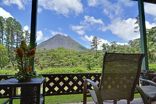 Hotel View of Arenal Volcano