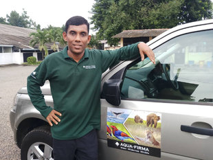 Aqua-Firma Private Guide & Vehicle in Sri Lanka