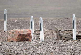 Grave Markers on Beechey Island - David Sinclair