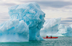 Kayaking with Glaciers in Franz Josef Land
