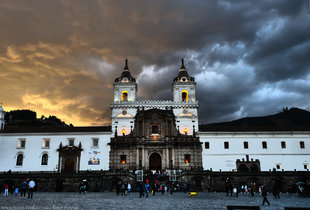 Plaza San Francisco in the Old Town of Quito - a UNESCO World Heritage Site photography: Ralph Pannell Aqua-Firma