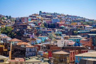 Colourful Chilean Town