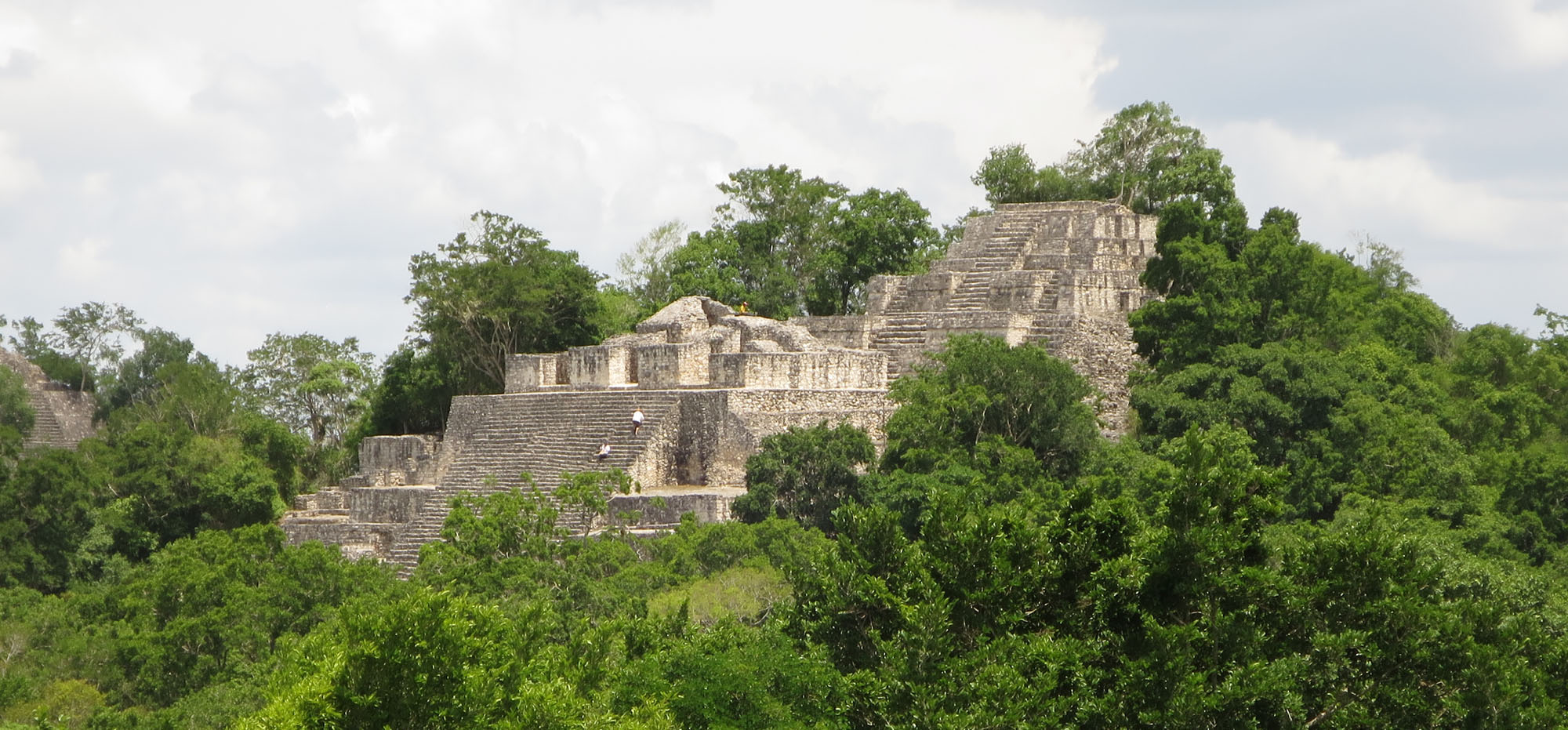 Temple of Calakmul in the Yucatan Peninsula - Ralph Pannell