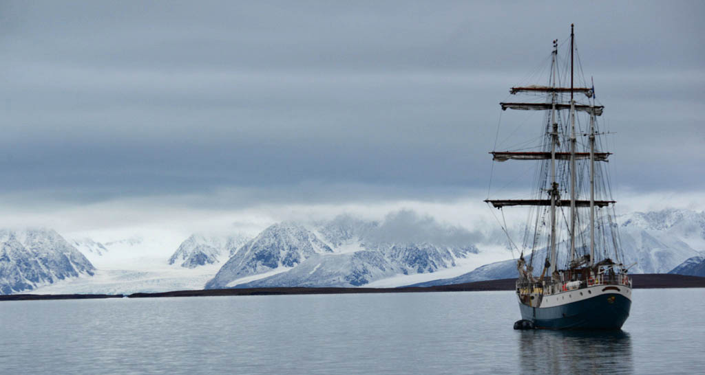 Sailing in Spitsbergen - Taliesin Coombes